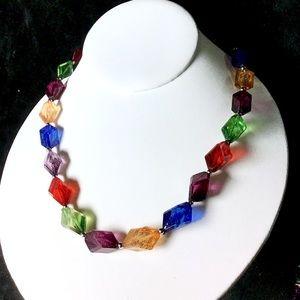 🎁Unique Colorful VINTAGE Necklace